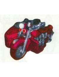 hübsches Motorrad mit Beiwagen