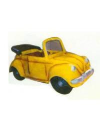 gelber Käfer Cabrio