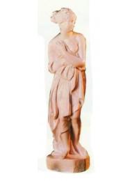 antike Frauenfigur in Steinoptik