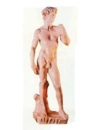 Männerfigur David in Steinoptik