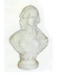 antike Frauenbüste hell