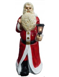Weihnachtmann mit elektrischer Beleuchtung