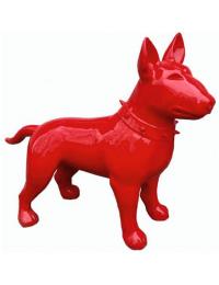 Hund Bullterrier Kampfhund rot