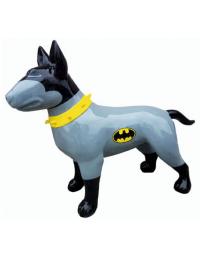 Hund Bullterrier Batman Kampfhund