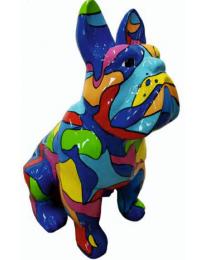 Bulldogge Mosaik
