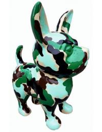 Hund Chihuahua camouflage