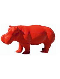 Nilpferd rot