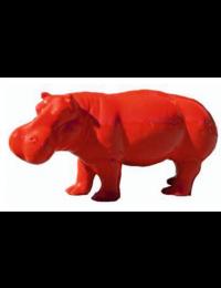 Nilpferd rot klein