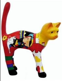 Katze Picasso