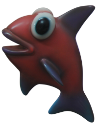 Comic Fisch Chanel