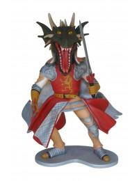 Ritter mit Drachenkopf
