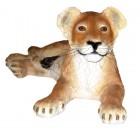 Löwenbaby liegend