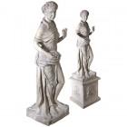 Vier Jahreszeiten - Frühling Statue