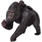 Gorilla Weibchen mit Baby