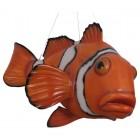 großer Clownfisch hängend