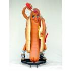 Hot-Dogmännchen Typ Amerika