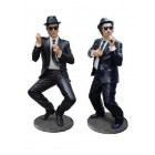 kleine Blues Brothers performen