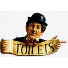 Toilettenschild