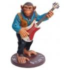 Affe an der Gitarre