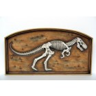 T-Rex Fossil im Rahmen
