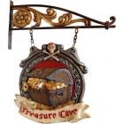 Treasure Cave Eingangsschild