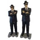 große Blues Brothers auf Asphalt