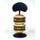 Hamburger  mit Display 0