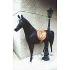 Pferd / elektrischer Laterne