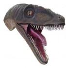 Velociraptor Kopf für die Wandmontage