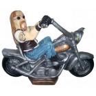 Rocker auf Harley