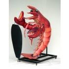 Lobster groß mit Angebotstafel