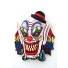 Angsteinflößende Clown Maske für Wand