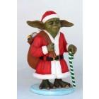 Meister Yoda als Santa Claus