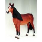Pferd mit Echthaarmähne