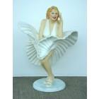 Marilyn Monroe Double tanzend klein