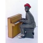 Klavier Spieler Mittel