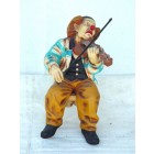 Clown mit Violine