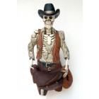 Cowboyskelett halb