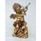 Engel stehend mit Violine