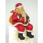 Weihnachtsmann sitzend klein