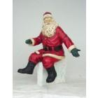 Weihnachtsmann sitzend