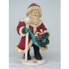 Weihnachtsmann auf Eis