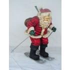 Weihnachtsmann auf Skier klein