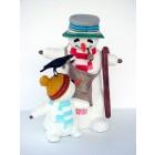 Schneemann mit Kind