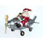 Weihnachtsmann im Flugzeug