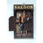 Skelett im Saloon