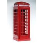 Londoner Telefonzelle Rot