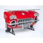 Chevy Wandtisch Rot