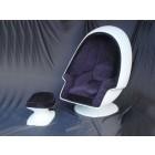 Eierhocker Weiß (ohne Sessel)