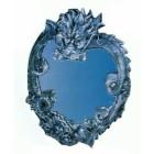 Spiegel mit Drachen als Herz
